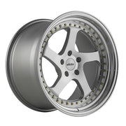 Whistler Wheels SK5 Silver Machined Face