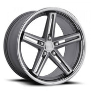 Concept One Wheels CS55 Matte Gunmetal Brushed