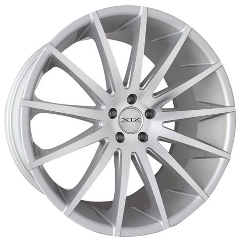 XIX Wheels X39 Silver Machined Face
