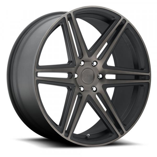 Dub Wheels Skillz Black Machined Dark Tint