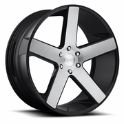 Dub Wheels Baller Brushed Gloss Black