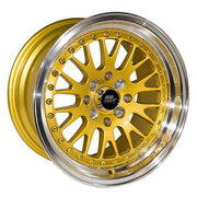 MST Wheels MT10 Gold Machined Lip