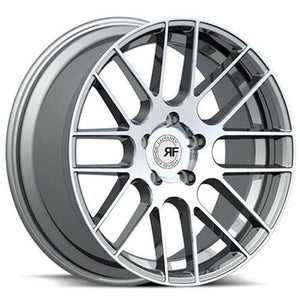 Road Force Wheels RF008 Hyper Silver