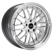 STR Wheels STR601 Hyper Silver Machined Lip