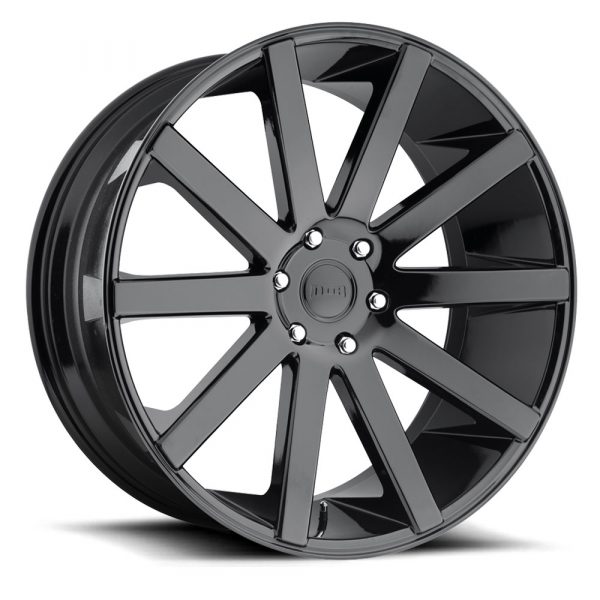 Dub Wheels Shot Calla Gloss Black