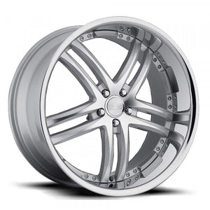 Concept One Wheels RS-55 Silver Machined