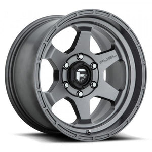 Fuel Off Road Wheels SHOK Gunmetal