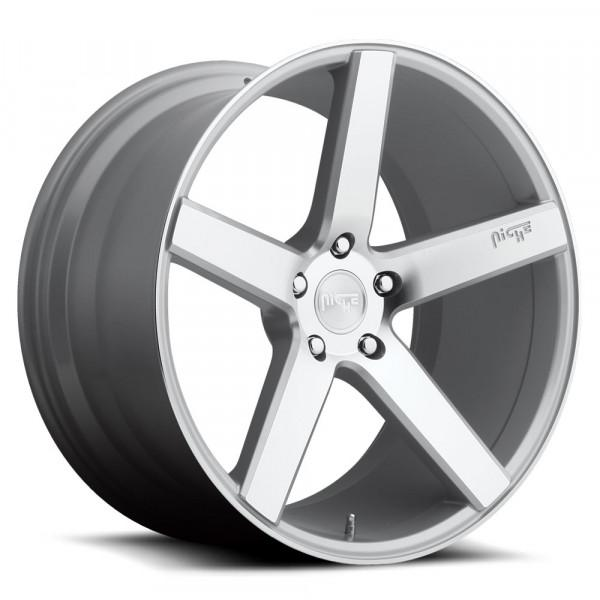 Niche Wheels Milan Silver Machine Cut Face