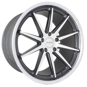 XIX Wheels X31 Matte Black Machined Stainless Steel Lip