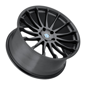 Beyern Wheels Aviatic Matte Gunmetal Gloss Black Lip