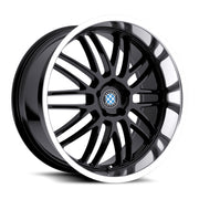 Beyern Wheels Mesh Gloss Black Mirror Cut Lip