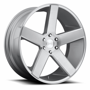 Dub Wheels Baller Brushed Silver