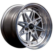 JNC Wheels JNC002 Silver Machined Face