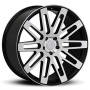 Road Force Wheels RF24 Black Machine Face