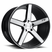 Niche Wheels Milan Brushed Gloss Black