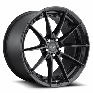 Niche Wheels Sector Satin Black