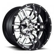 Fuel Off Road Wheels SLEDGE Chrome with Gloss Black Lip
