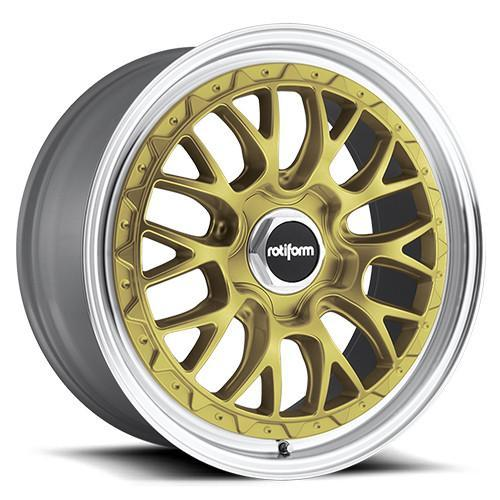 Rotiform Wheels LSR Gold Machined