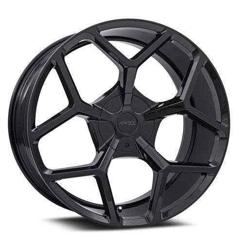MRR Wheels T228 Gloss Black