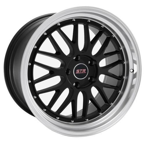 STR Wheels STR601 Black
