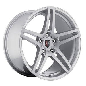 MRR Wheels RW5 Silver Machined Face
