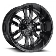 Fuel Off Road Wheels SLEDGE Gloss Black Milled