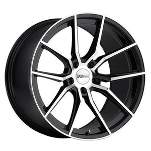 Cray Wheels Spider Gloss Black Mirror Cut Face