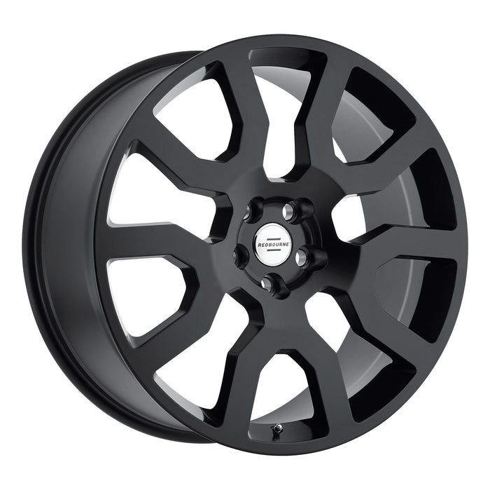 Redbourne Wheels Hercules Matte Black