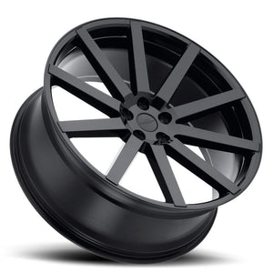 Redbourne Wheels Kensington Gloss Black