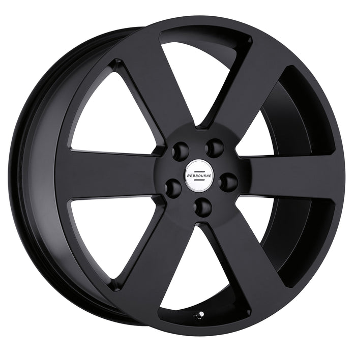 Redbourne Wheels Saxon Matte Black