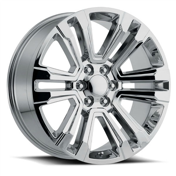 Chevy Wheels RP10 22x9 6x139.7 Chrome fit Silverado Tahoe Suburban SLT
