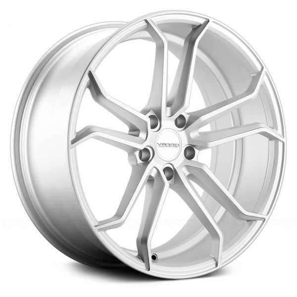 Varro Wheels VD02 Matte Silver Brushed Face