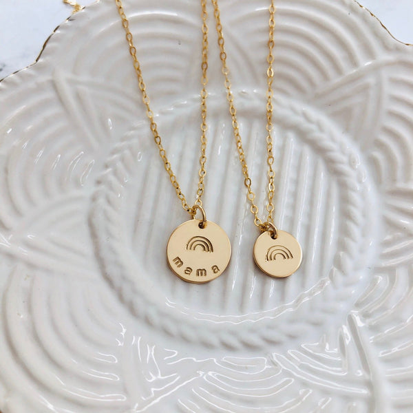 Mommy and Me Matching Necklace Set