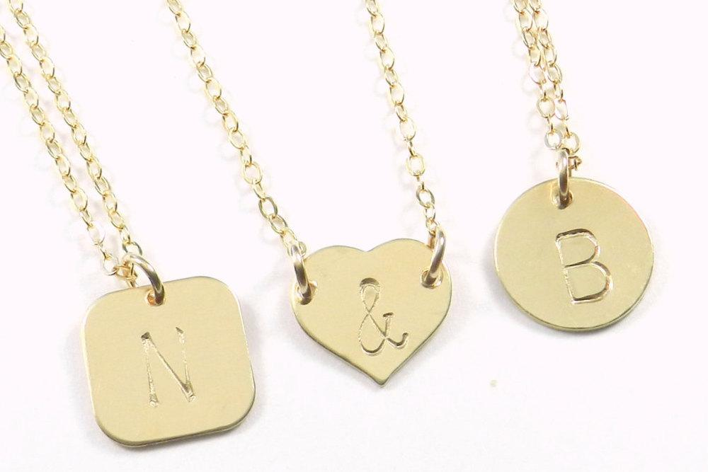 Shannon Monogrammed Necklace. The Shannon