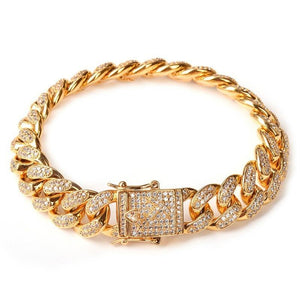 High Quality  gold color Luxury Bracelet for Men