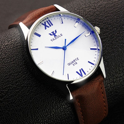 Superb Leather Watches for  Men