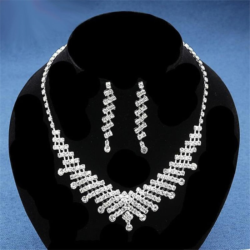 Attractive Women's Wedding Jewelry Set for Women