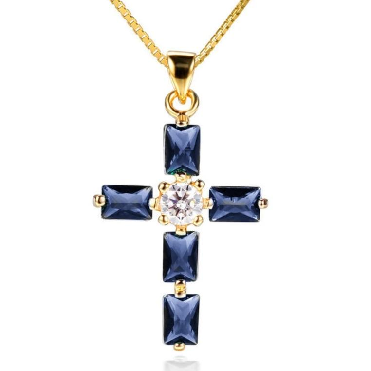 Cross Pendant Necklace for Women