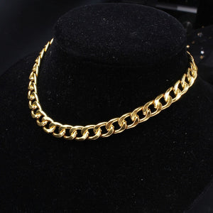 Men's Curb Cuban Necklace
