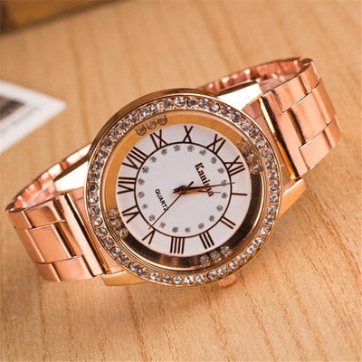 Impeccable New Luxury Gold Watch for Women