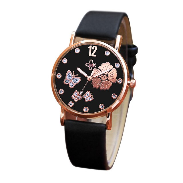 Leather Women  watches