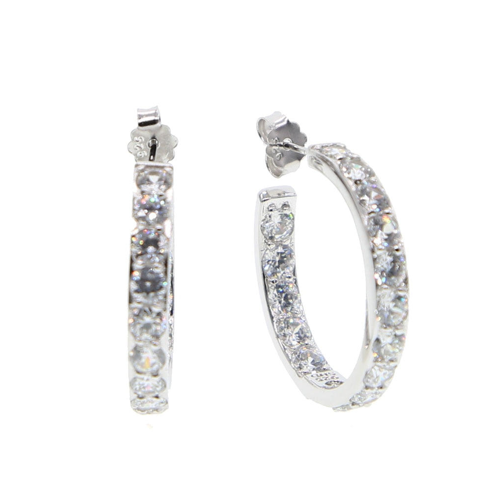 Big Earrings 24mm for Women