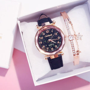 Luxury Women Watches +Bracelet
