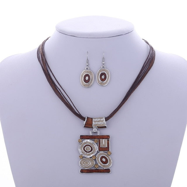 Fine Jewelry sets  Multilayer ( Necklace Earring) for Women
