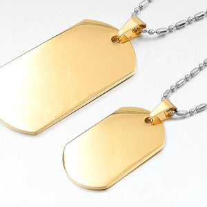 Stainless Steel Pendant Necklace  for Men