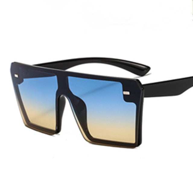 Flat Top Square Women Sunglasses