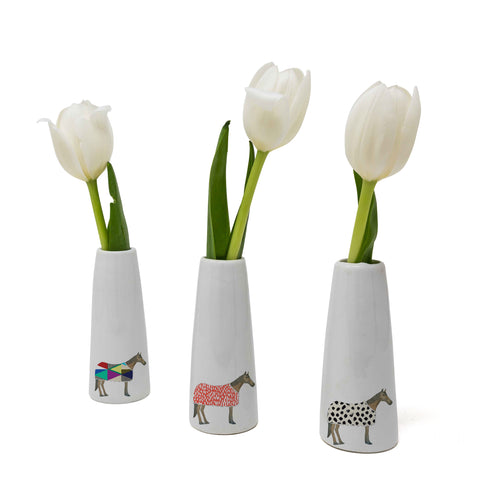 Horse of Windsor Bud Vase Set