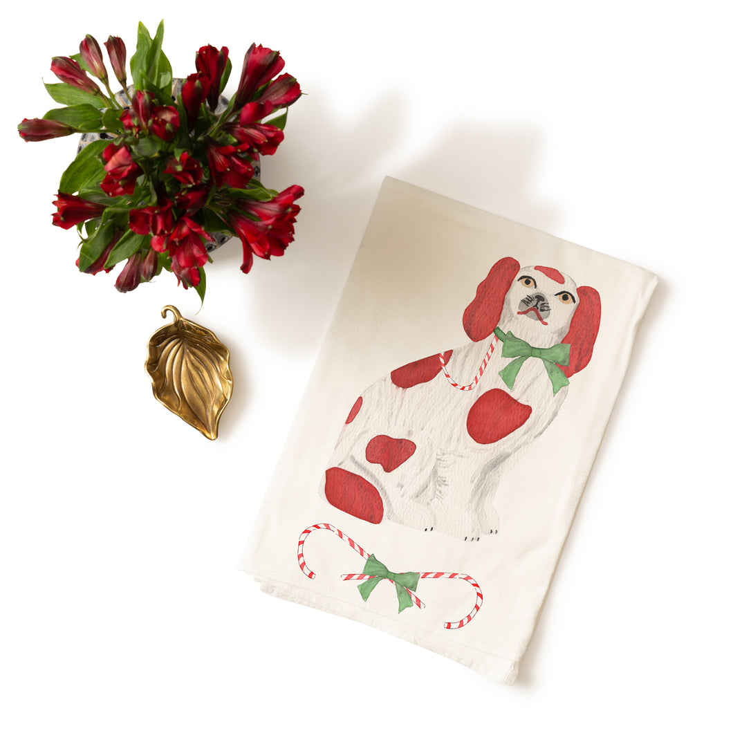 Christmas Staffordshire Tea Towel