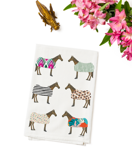 Horse of Windsor 2020 Tea Towel