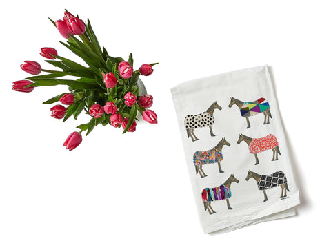 Horse of Windsor Tea Towel